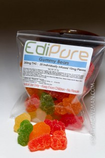 EdiPure Gummy Bears (250mg bag)
