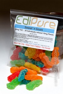 EdiPure Sweet 'n Sours (250mg bag)