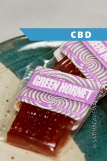 Green Hornet infused gummy – CBD (Bag of 25)